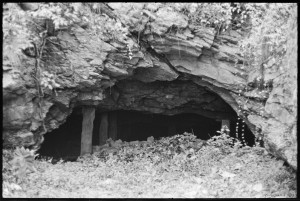 Entrance to the Choate mine.