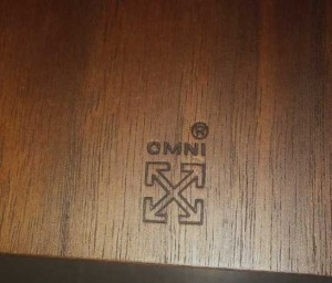 The Omni brand is on each shelf.